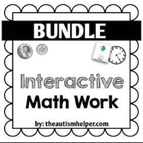 Interactive Math Work {BUNDLE}