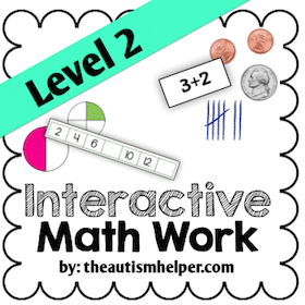 Interactive Math Work {Level 2}