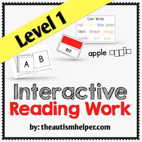 Interactive Reading Work {Level 1}