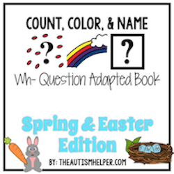 Color, Count, and What – Spring & Easter