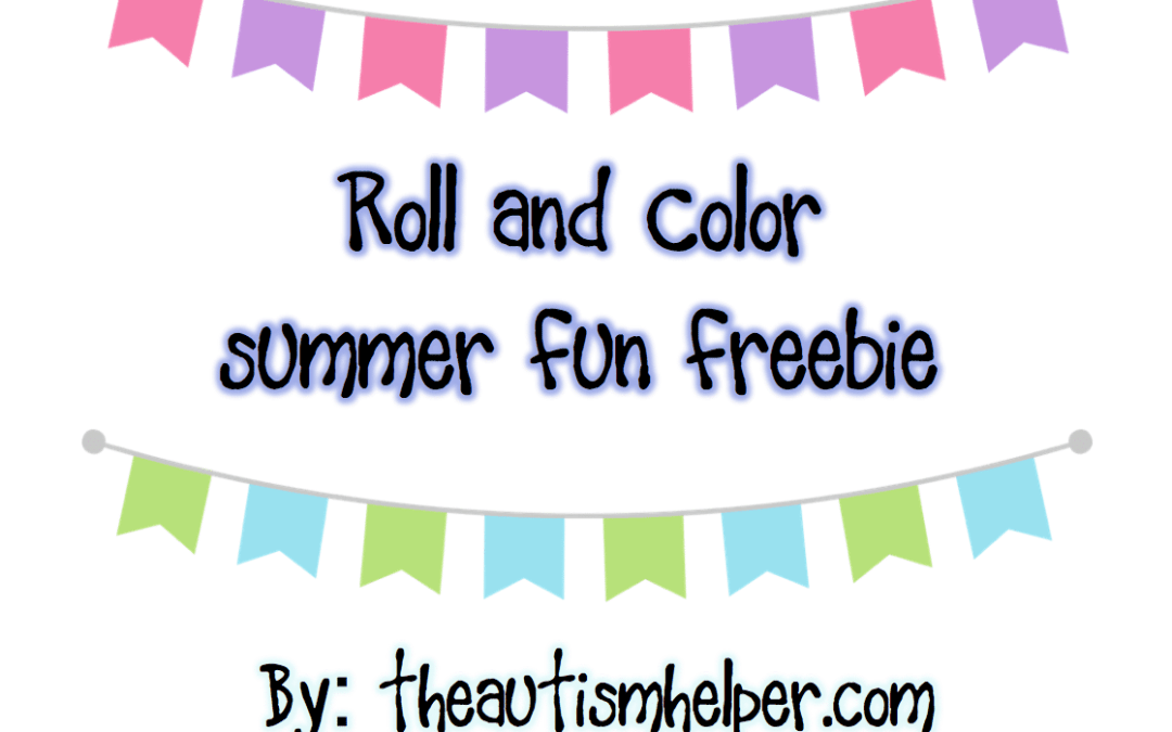 Summer Roll & Color {freebie}