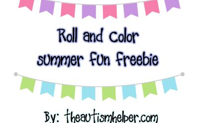 Summer Roll & Color {freebie}