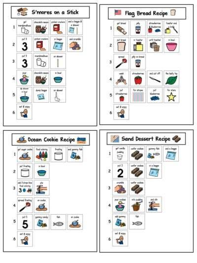 summer treats and snacks visual recipes.004