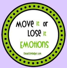 Move It or Lose It {Emotions}