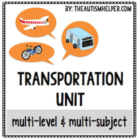 Transportation {Multi-Level & Multi-Subject}