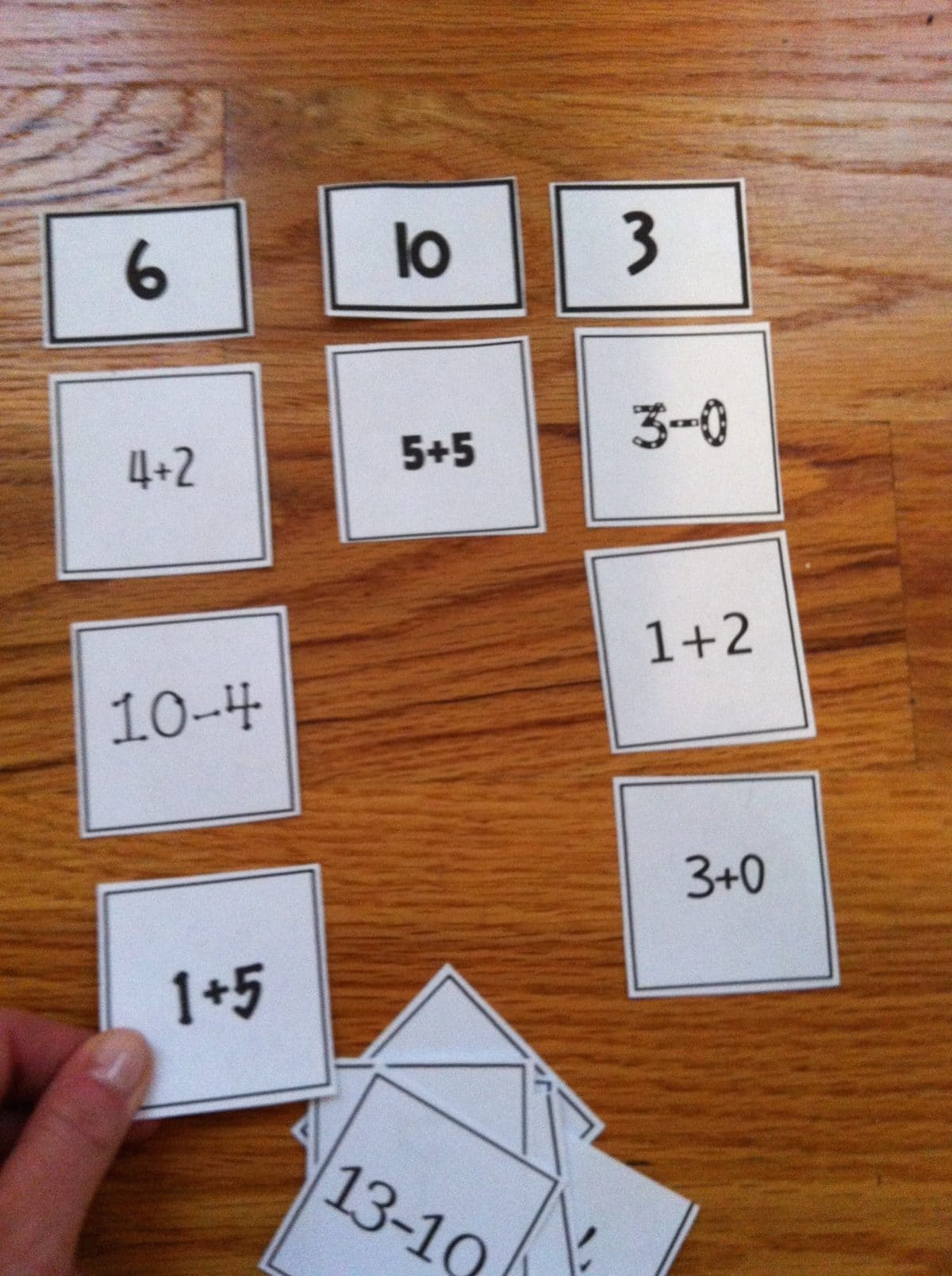 Math Sorts For Interactive Learning