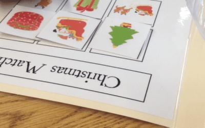 Christmas Themed File Folders
