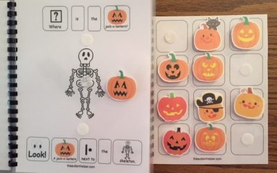 """Where is the Jack-O-Lantern?"" Book with Pumpkin Craft"