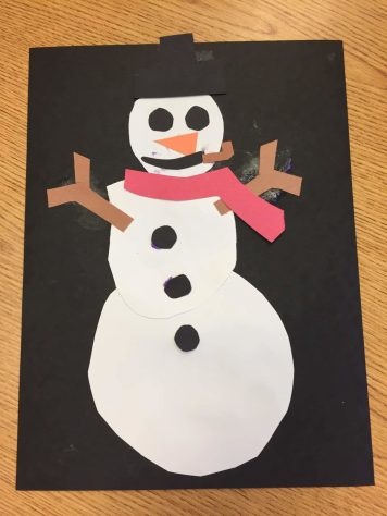 Finished Snowman Craft 3