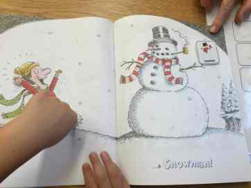 Snow Book - Snowman