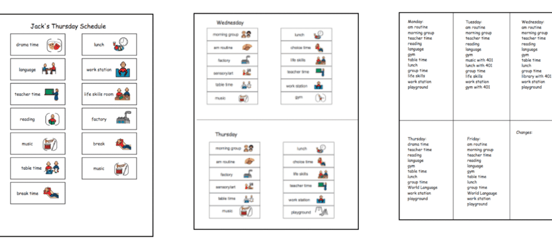 Why Your Students Don't Need a Visual Schedule {eventually}