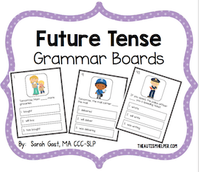 Future Tense Grammar Boards