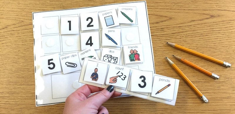 Commenting Visuals for Students Who Are Nonverbal
