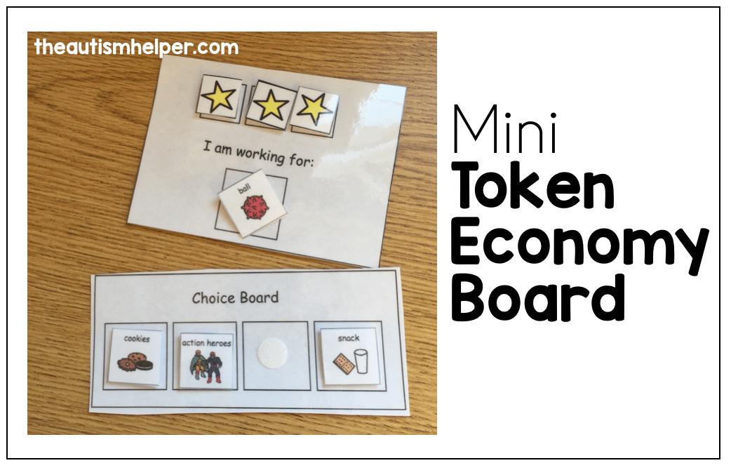 Mini Token Economy Board