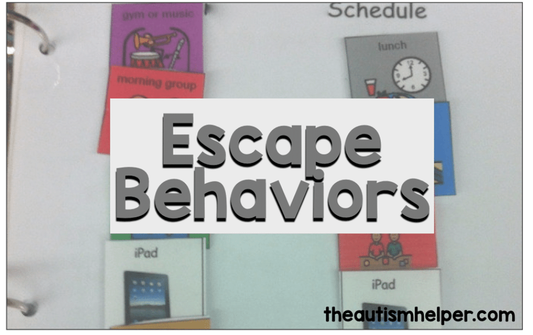 Escape Behaviors