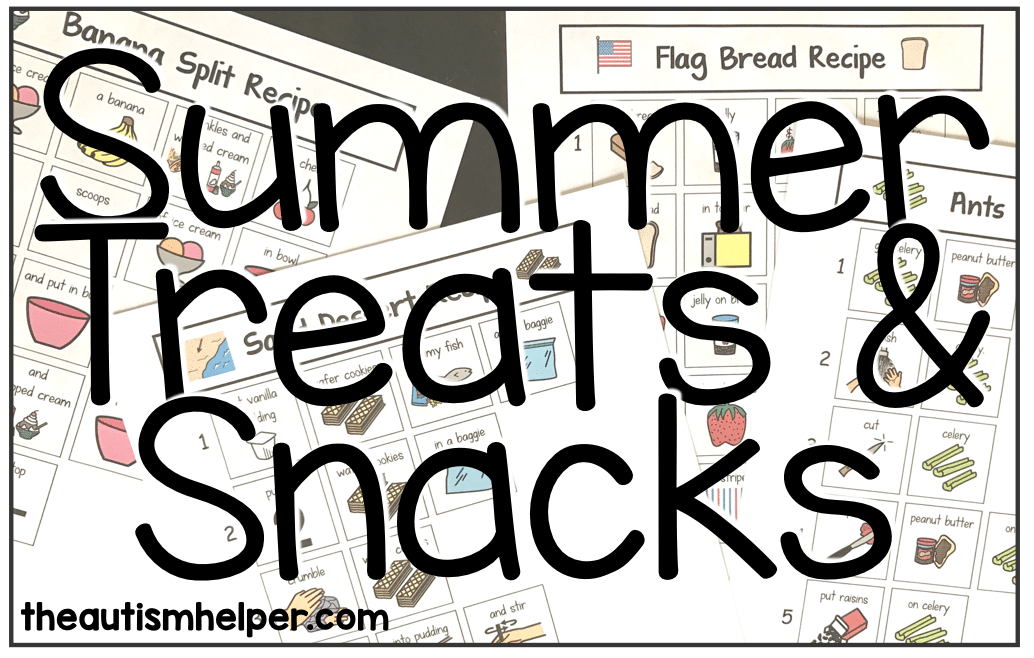 Summer Treats & Snacks Visual Recipes