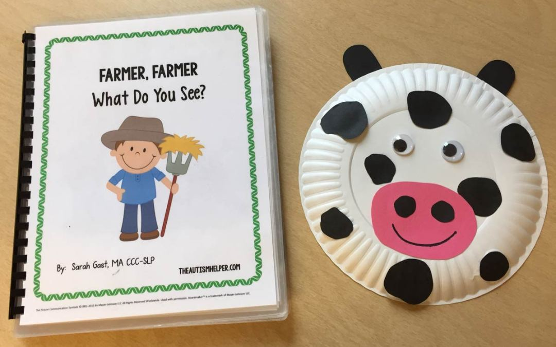 Farmer, Farmer What Do You See? and Cow Craft!