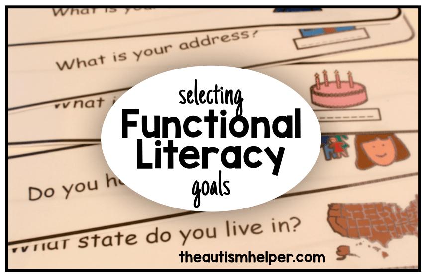 Setting Functional Literacy Goals