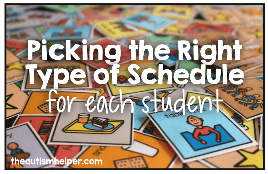 Picking the Right Type of Schedule for Each Student