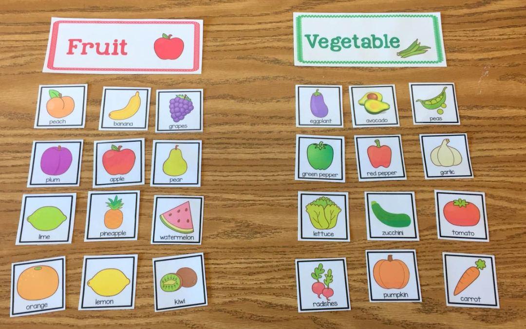 More Fruit and Veggie Fun!