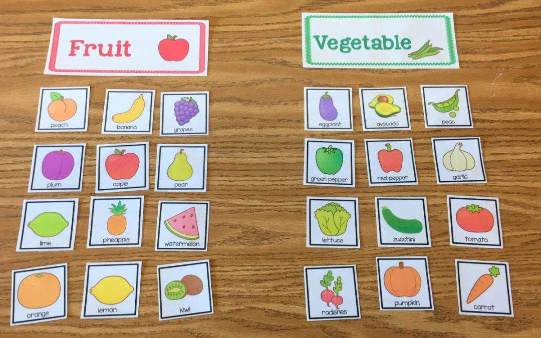 More Fruit and Veggie Fun!