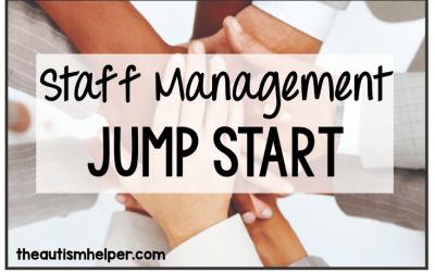 Staff Management Jump Start