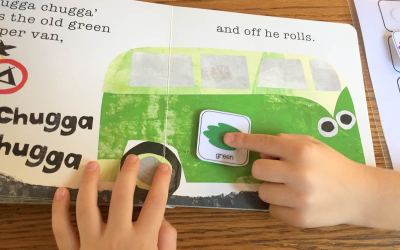 Toot Toot Beep Beep with Free Book Visuals