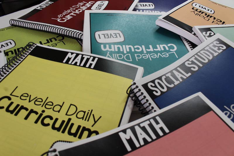 Organizing the Leveled Daily Curriculum