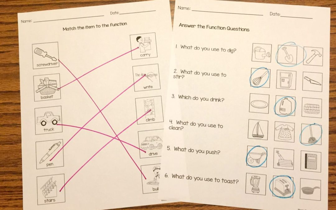 Free Function Worksheets