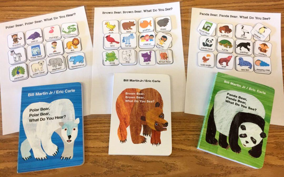 Classic Preschool Books with Free Book Visuals