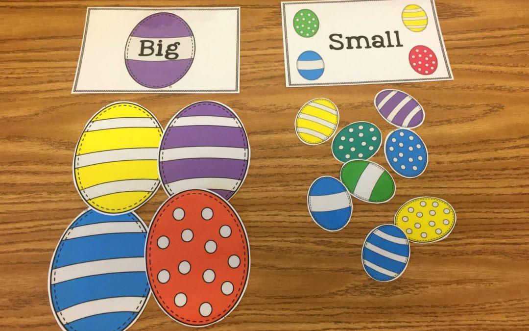 Free Big/Small Easter Egg Sort