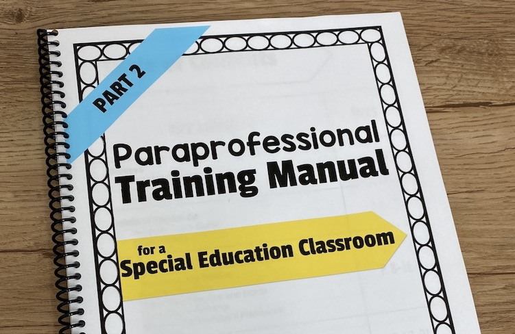 Paraprofessional Training Guide – Part 2