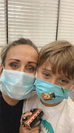 Helping kids wear a face mask: Covid-19
