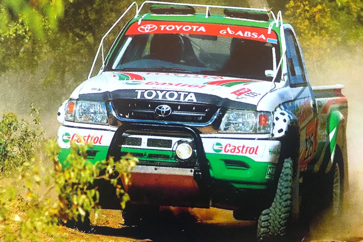 Gavin Cronje Toyota Desert Race 2004