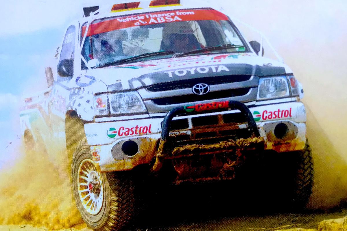 Kassie Coetzee Toyota Desert Race 2003