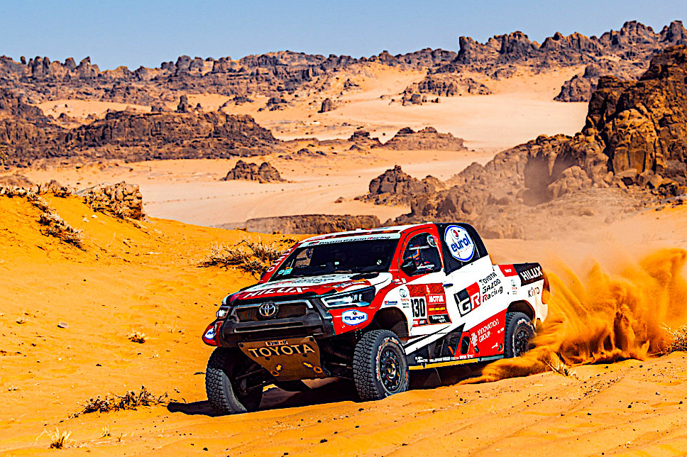 DAKAR DAY 9 LIVE TICKER