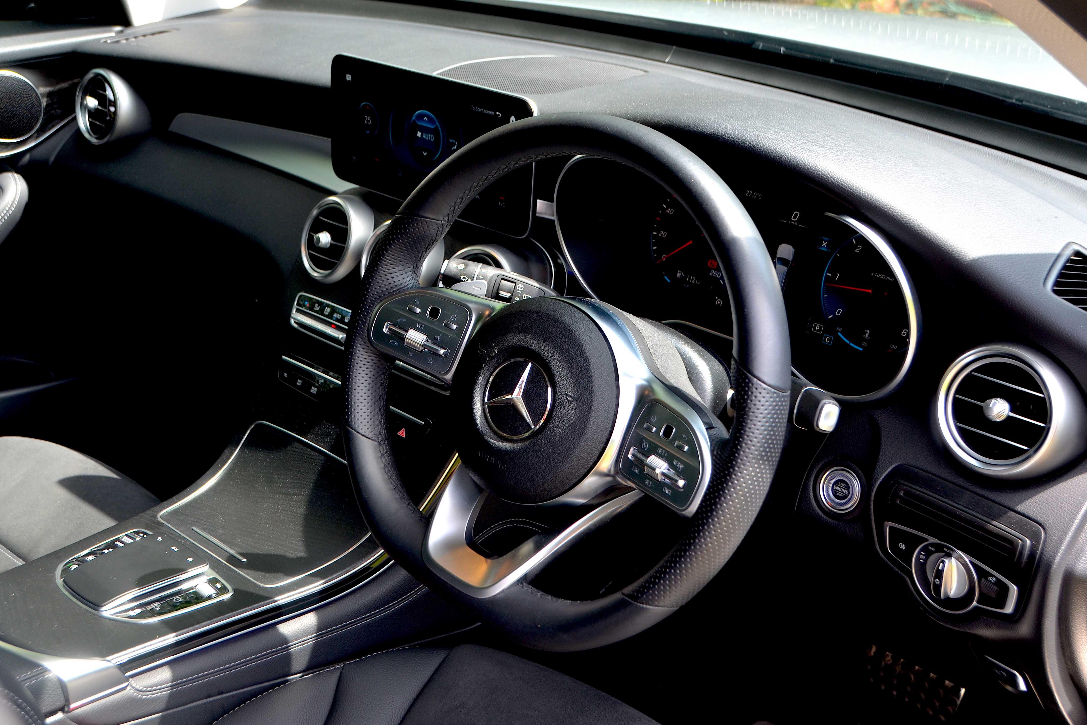 Mercedes GLC220d Test