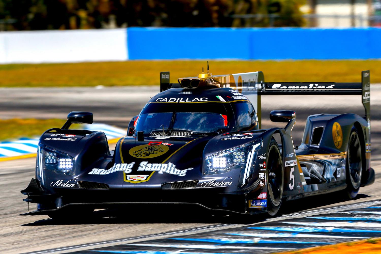Cadillac won Sebring