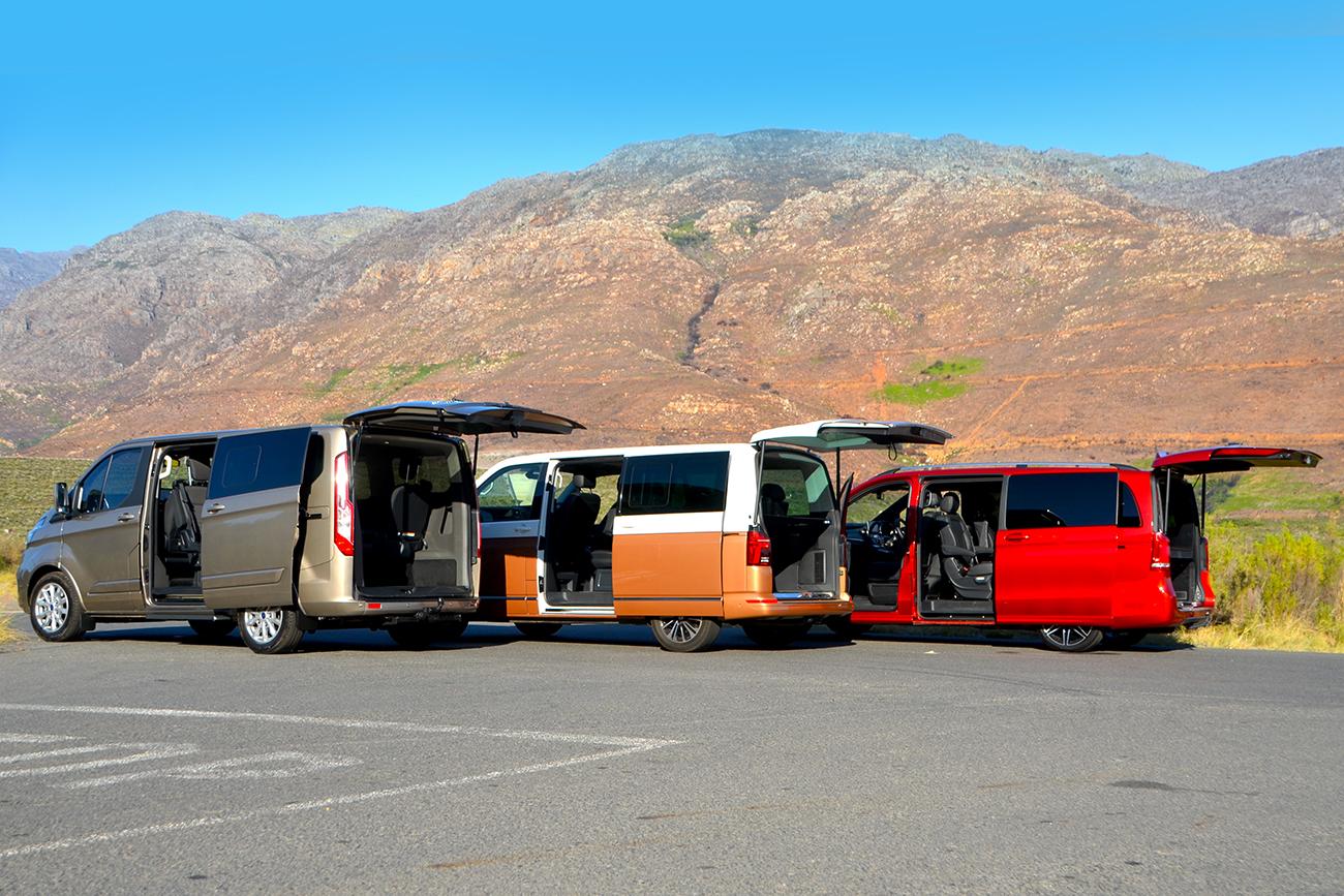 Transit, Caravelle & V300d