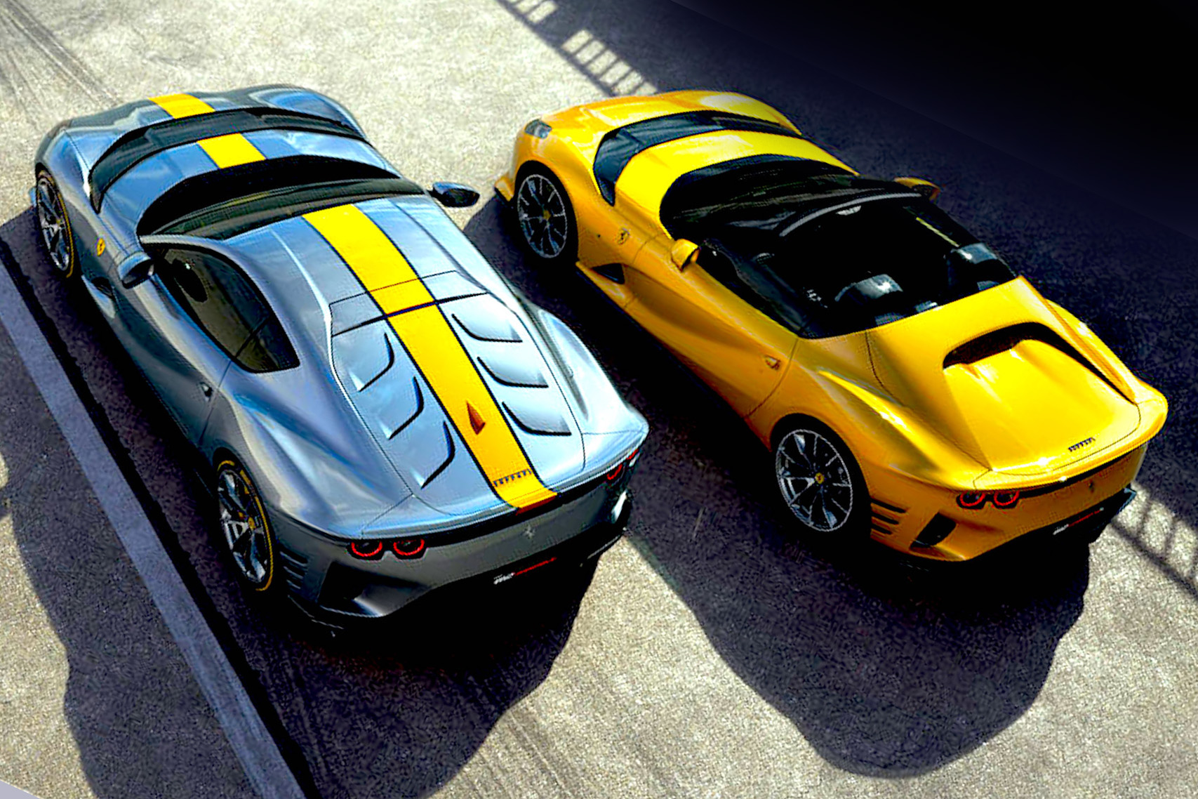 COMPETIZIONE —  FERRARI'S RECORD SUPERFAST TWINS