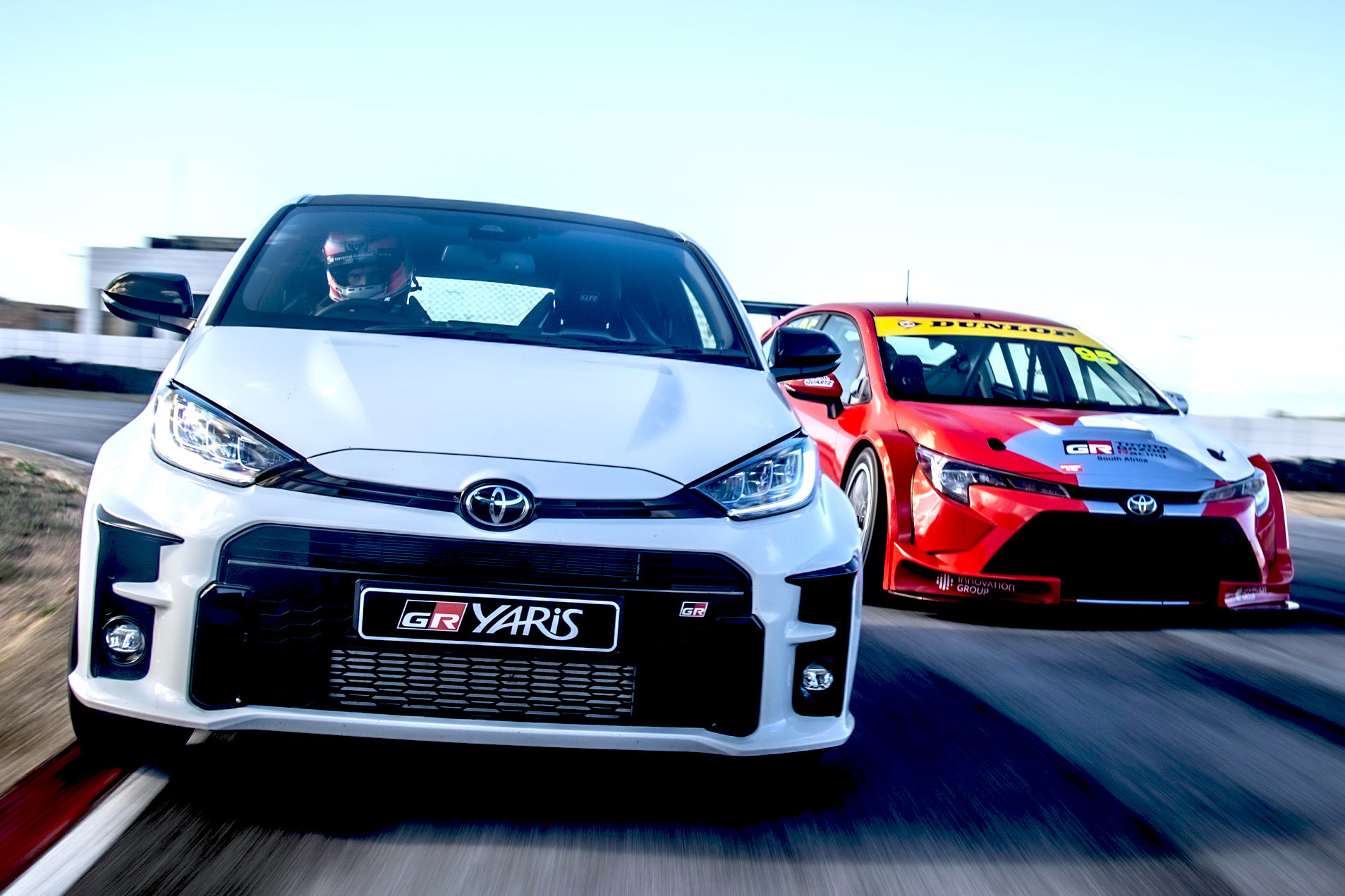 HOLD ON TO YOUR HATS — THE GAZOO RACING YARIS IS COMING!