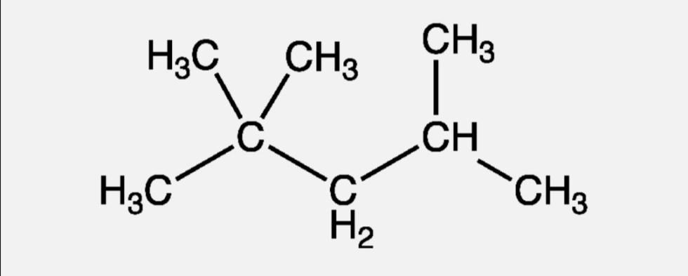 Химическая формула изооктана и его соединения