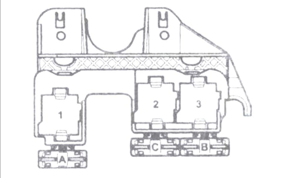 Дополнительная колодка реле Ауди А4 (B6)
