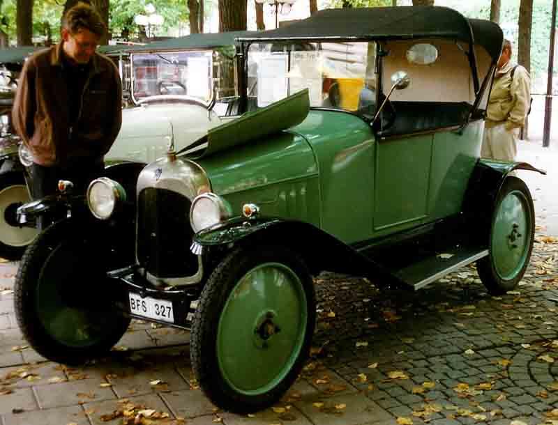 Citroën Type A Torpedo 1919 года