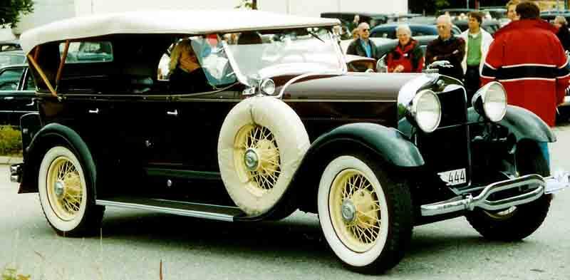 Lincoln Model L 1929 года