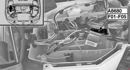 Предохранители и реле двигателя BMW 1 ( E81 / E82 / E87 / E88) 116i
