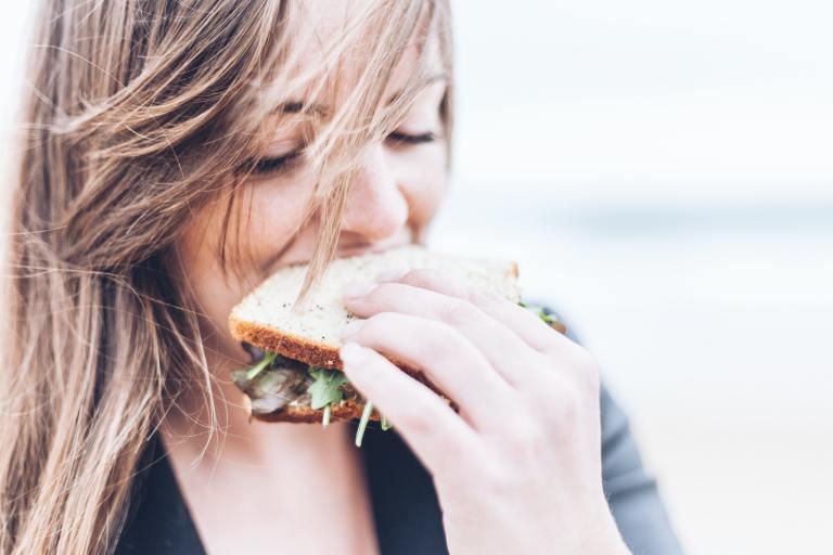 Women eating western diet