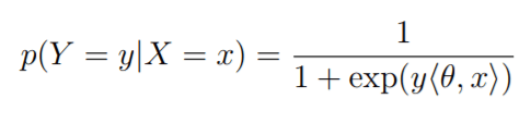 logistic regression probability formula