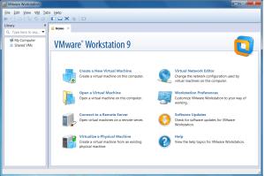 VMware 9 Splash Screen
