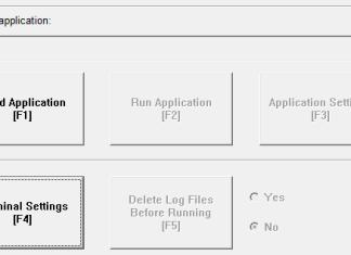 PanelView Plus Configuration Mode